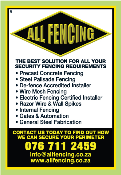 ALL FENCING ADVERT
